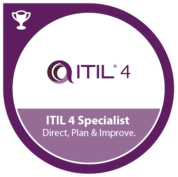ITIL® 4 Specialist: Direct, Plan and Improve