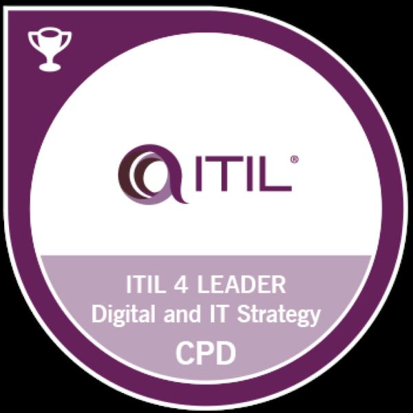 ITIL® 4 Leader : Digital & IT Strategy